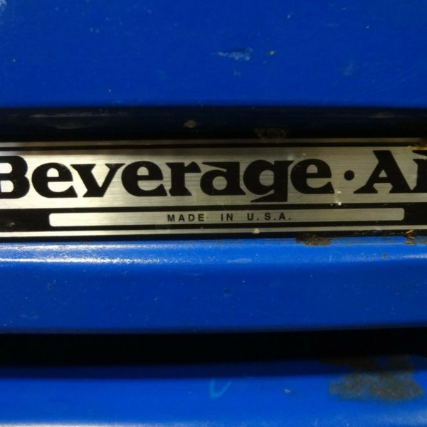 U0026quot Beverage Air U0026quot  Commercial Refrigerated Lighted Open Cold
